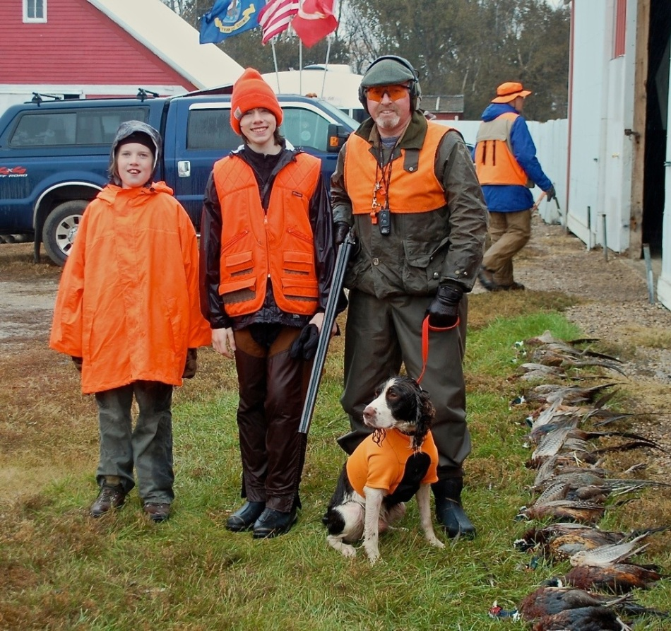 Pheasant Hunting Polo, South Dakota