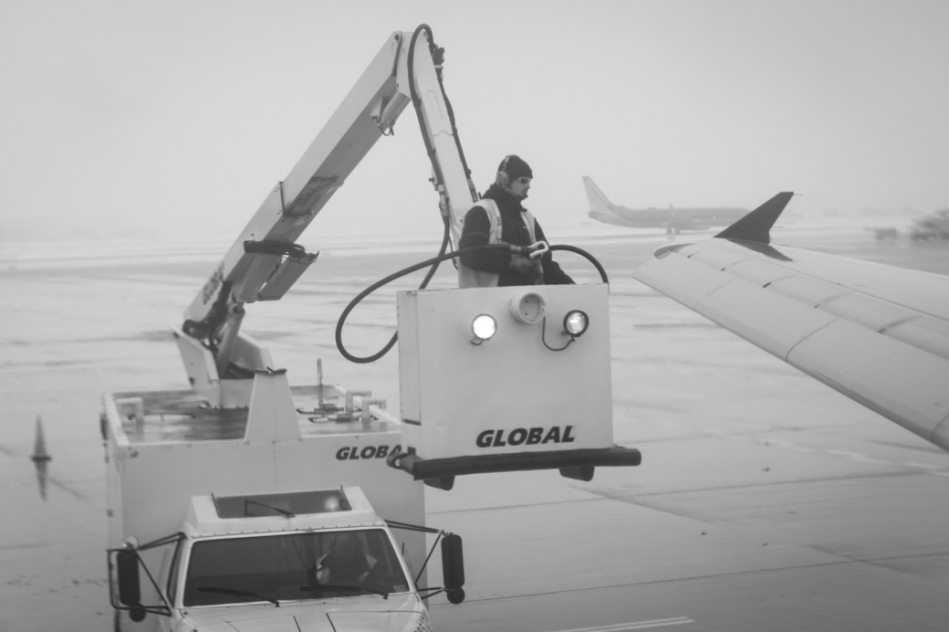 De-Icing Chicago Midway