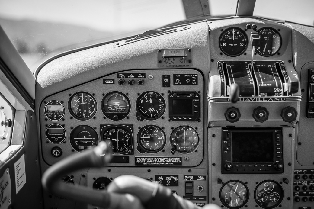 DeHavilland Beaver Cockpit
