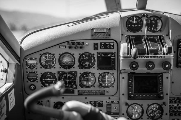 DeHavilland Beaver Cockpit