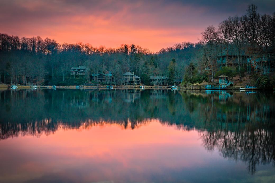Sun Rise - Lake Atagahi