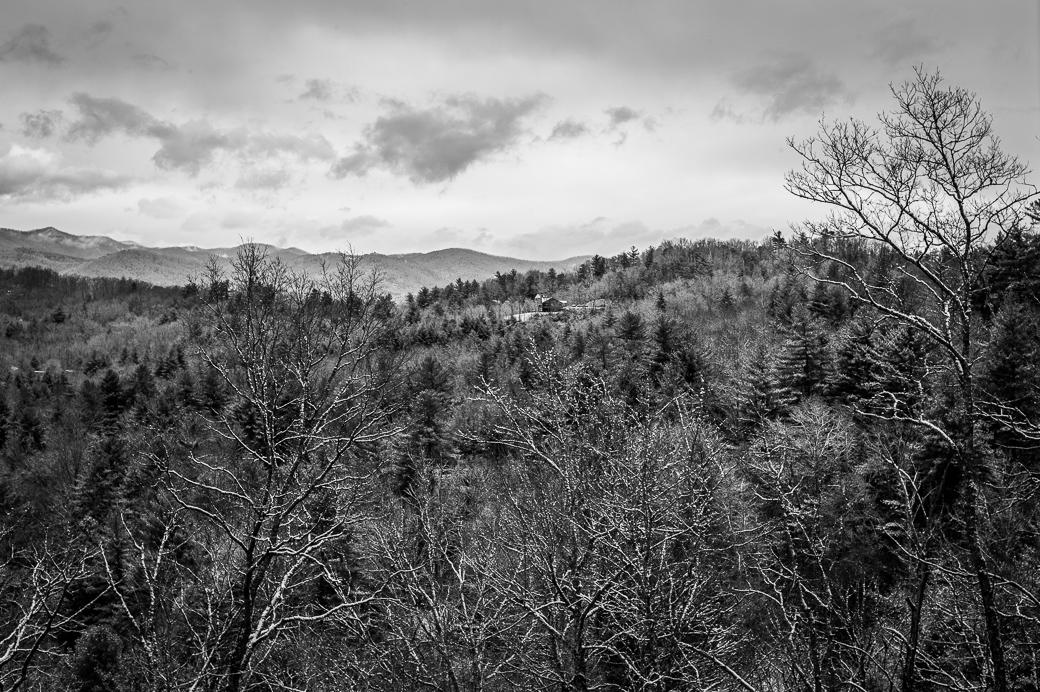 Mount Pisgah & Blue Ridge Mountains