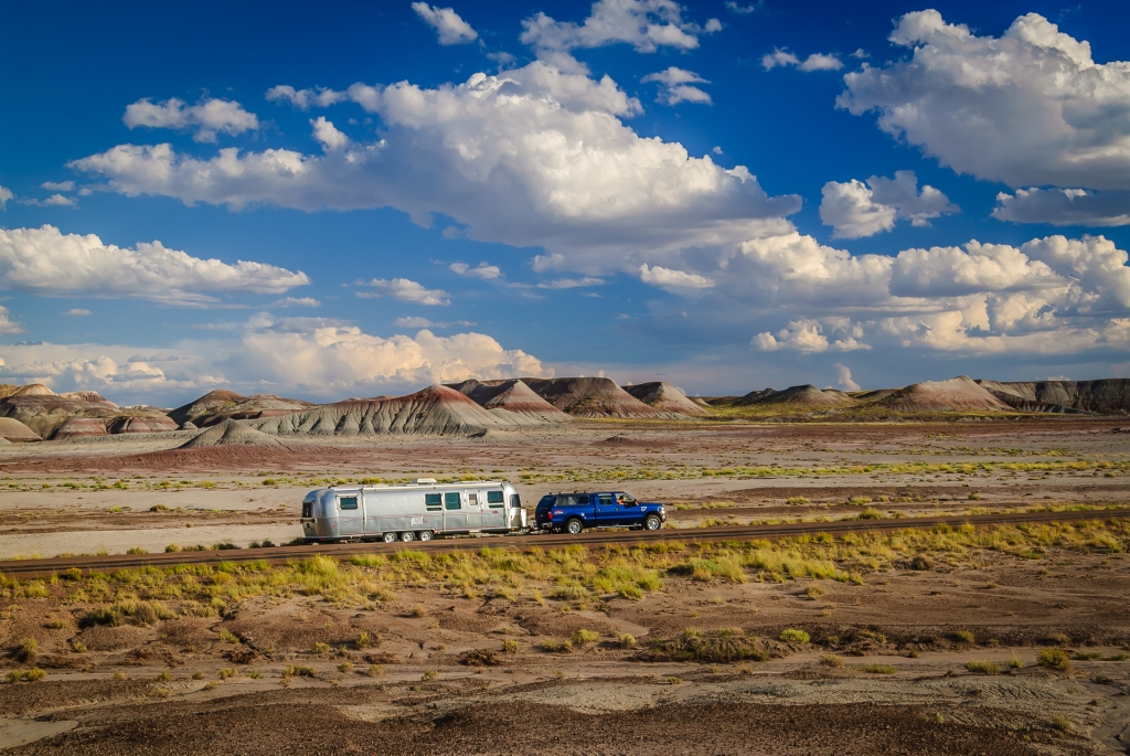 Airstream Painted Desert