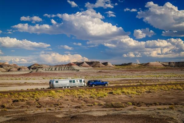 Airstream Painted Desert