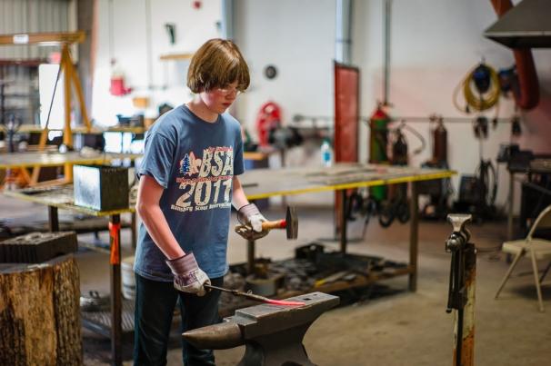 Young Blacksmith