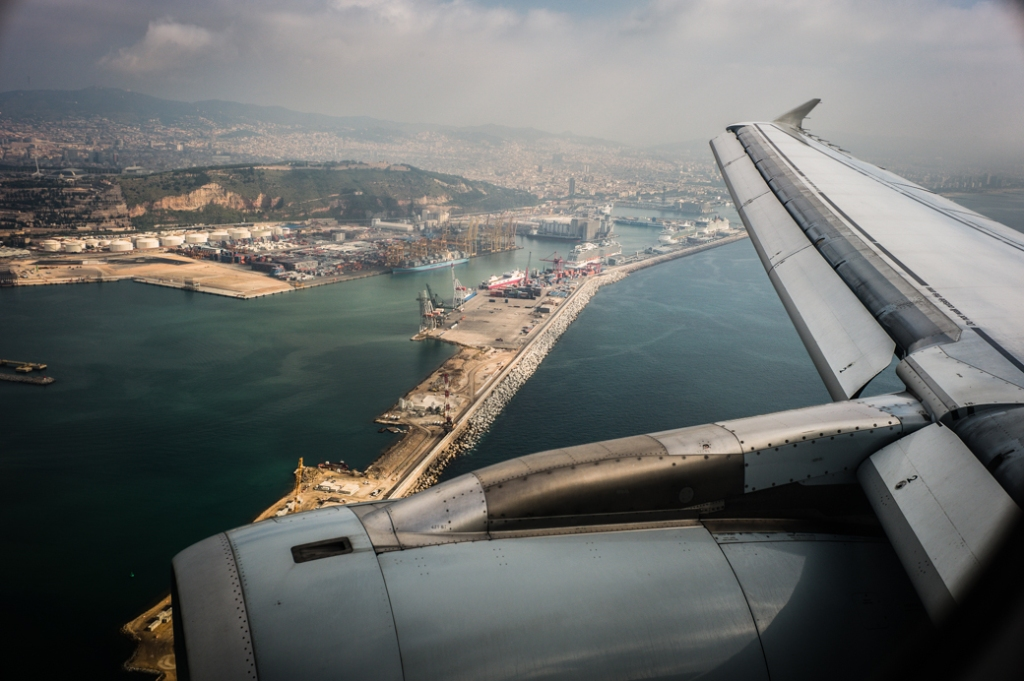 Approach to Barcelona