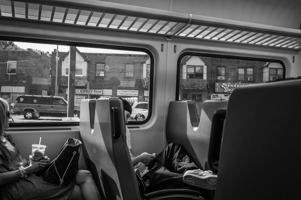 Riding the Septa Train