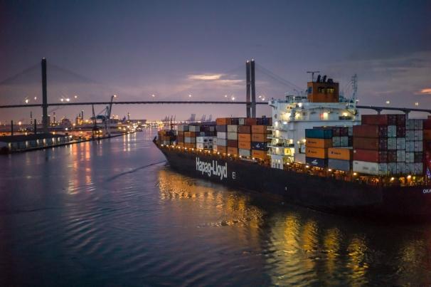 Night Cargo | Savannah River
