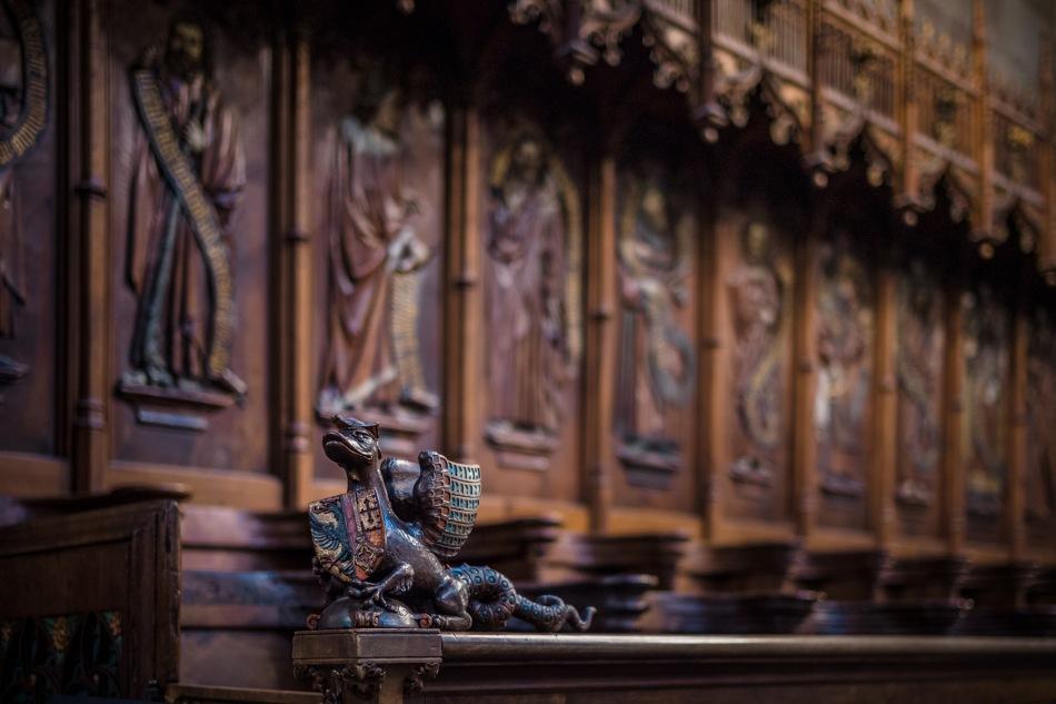 The Guardian - St. Pierre Cathedral, Geneva, Switzerland