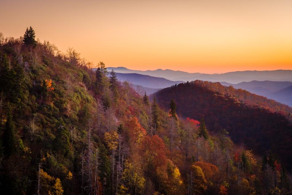 Sunrise - East Fork Lookout
