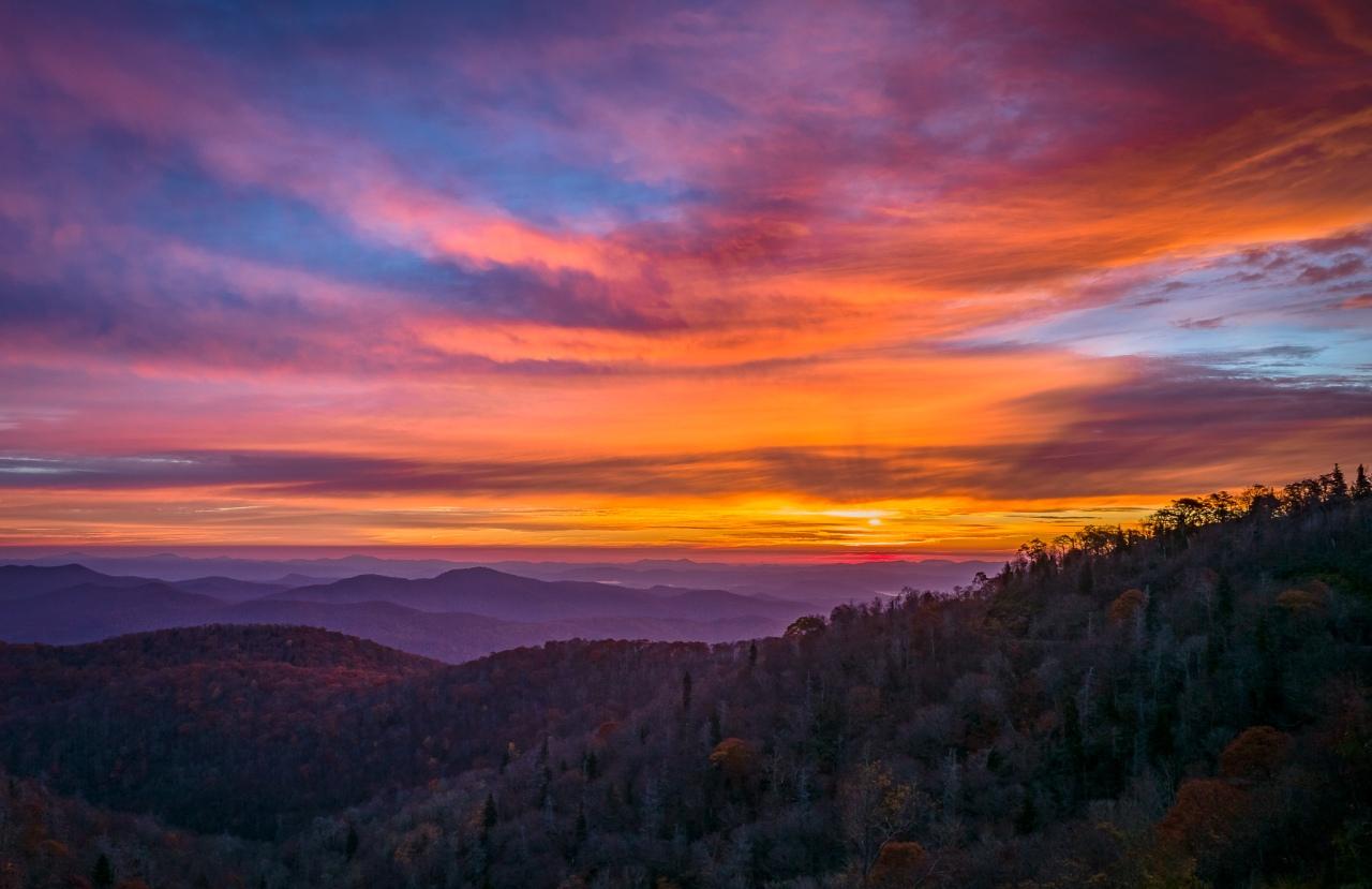 Sunrise - Blue Ridge Parkway