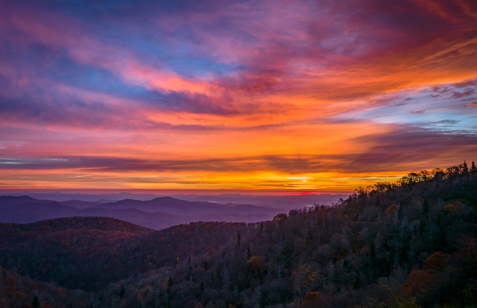 Sunrise - Blue Ridge Parkway
