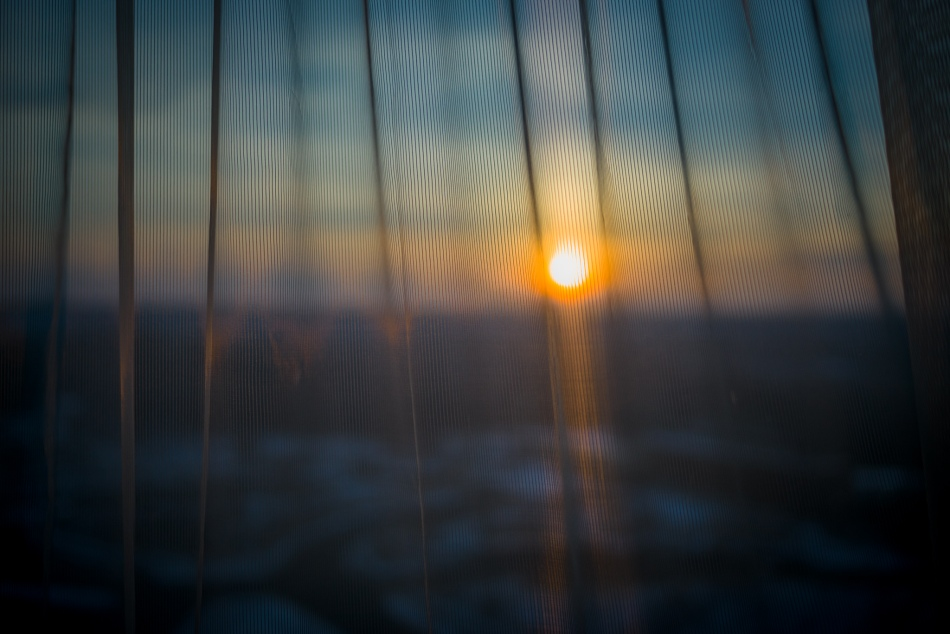 Through the Curtains