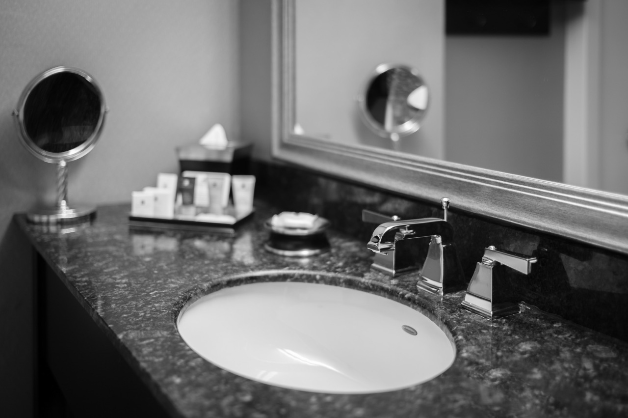 Crowne Plaza Bathroom sink