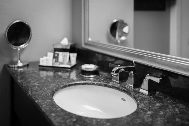 Crowne Plaza Bathroom sink