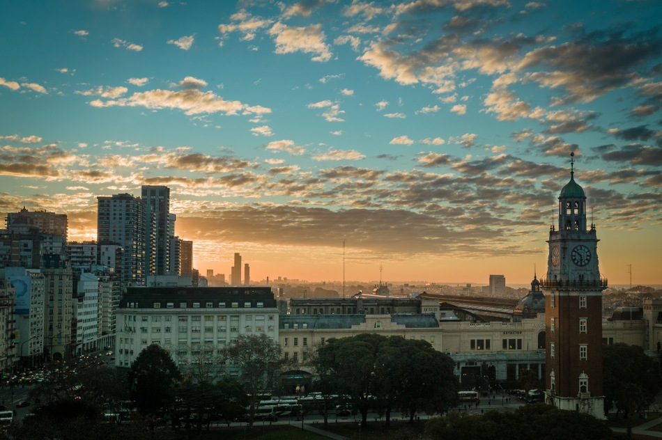 Sunset Buenos Aires