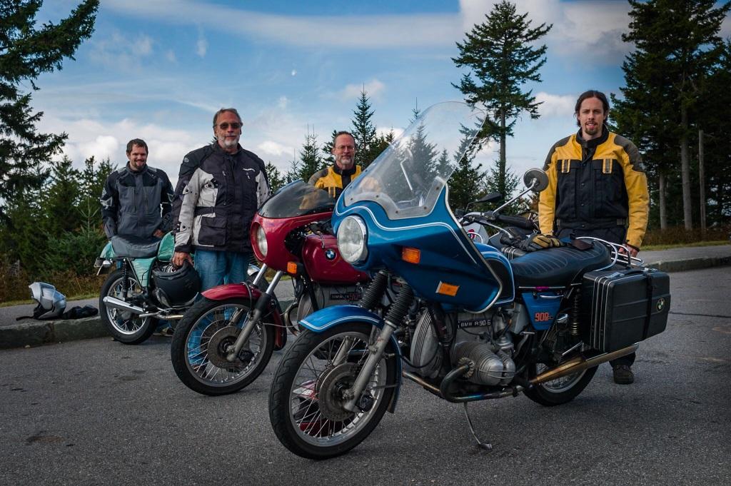 Vintage BMW motorcycles